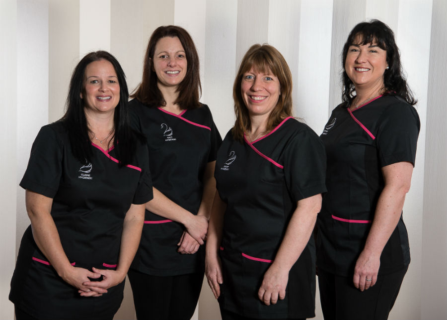 Dental hygienist team at Black Swan Dental Spa