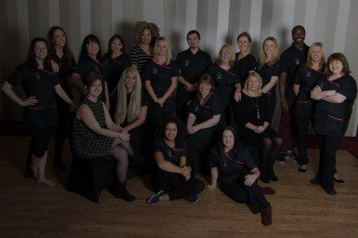The Black Swan Dental Spa team